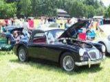 Michael LoSapio 1962 MG MGA MkII Black Red