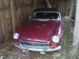 Michael LoSapio 1973 MG MGB MkII red metallic