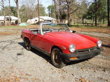 ron arnold 1978 MG Midget 1500 red