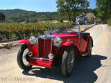 Steve S 1949 MG TC Red