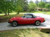 John English 1976 MG MGB Vermillion