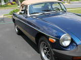 Mike Keeney 1976 MG MGB Patriot BLue