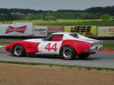 Charles Powell 1972 Chevrolet Corvette Red White