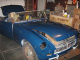 Mike Trumbower 1974 MG MGB Teal Blue