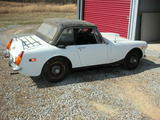 William Pitts 1972 MG Midget MkIII White