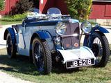 John Morris 1932 MG J2 Midget Cambridge and Oxford Blues