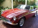 chris vine 1979 MG MGB Red