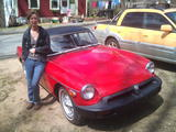 Sue R 1975 MG MGB Red