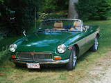 james williamson 1972 MG MGB british racing green