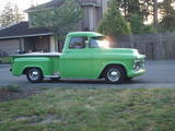 adam morris 1955 Chevrolet Silverado Big Bad Green