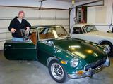 David Terhune 1970 MG MGB GT British Racing Green