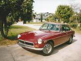 Tyler Evans 1974 MG MGB GT Damask Red