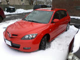 2007 Mazda 3 True Red Seth Jones