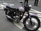 1970 Triumph MC Daytona Purple White Glenn Polly