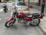 2009 Suzuki MC TU250 Red Glenn Polly