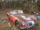 1958 MG MGA 1500 Red Bob K