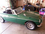 1969 MG MGB MkII British Racing Green Jay Fallon
