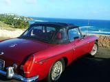 1972 MG MGB Red Abby w