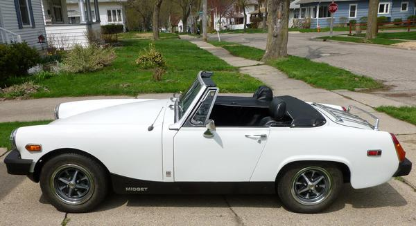 Supercharged MG Midget   An outrageous MG Midget with a