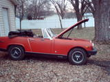 1976 MG Midget Burnt Red Robert Nunya