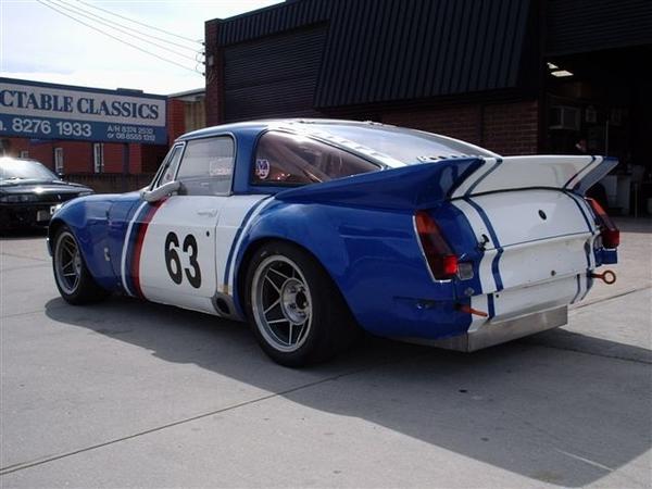 Gold Paint Race Car