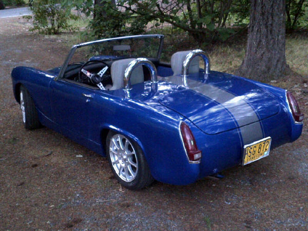 Girl 1979 mg midget rollbar for sale