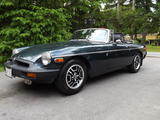 1977 MG MGB Dark Green Metallic John Walkden
