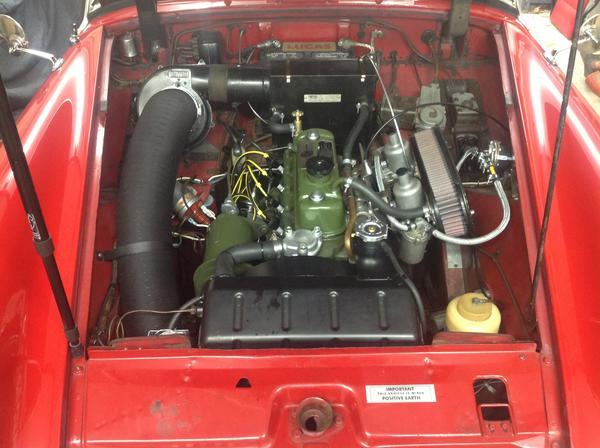 Mg midget engine codes