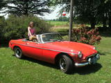 1973 MG MGB MkIII Blaze Red David Tetzlaff