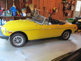 1979 MG MGB Yellow Gregg F