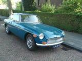 1971 MG MGB GT Teal Blue Jeroen Vissers