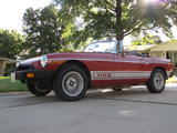 1979 MG MGB Red Josiah Hull
