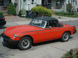 1980 MG MGB MkIV Orange Melody B
