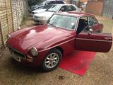 1973 MG MGB GT Demask Red Jack Walker