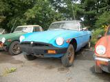 1977 MG MGB Blue Eric L