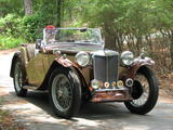 1946 MG TC Brown Tan Lonnie C