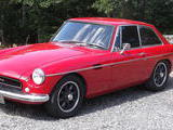 1970 MG MGB GT Molton Red KC Allen