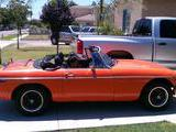 1980 MG MGB Orange george salazar
