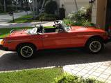 1979 MG MGB Orange Fred K