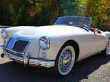 1958 MG MGA Old English White Ben Moskel