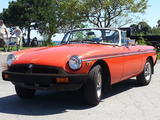 1980 MG MGB Orange James Pelle