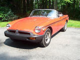 1978 MG MGB Red Bob Madderom