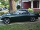 1969 MG MGB Racing Green James b
