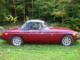 1979 MG MGB V8 Conversion Damask Red Allan Steckenberg