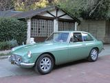 1967 MG MGB GT Green Lewis E