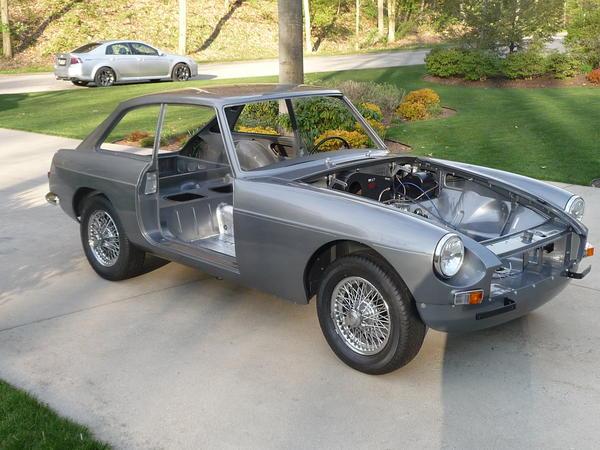1967 MG MGB GT (GHD3L93982) : Registry : The MG Experience