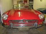 1966 MG MGB Red John Bloom