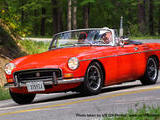 1971 MG MGB RED Bruce Miller