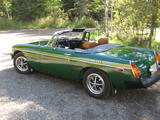 1976 MG MGB Wonderland Green Rick J