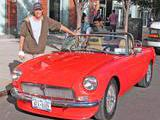 1971 MG MGB Red Glenn Polly